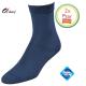2 Paar dames sokken donker blauw klassiek