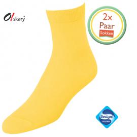 Gele sokken dames online kopen