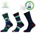 Bamboe sokken heren Vigor (3 Paar) - 1
