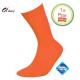 Heren sokken klassiek oranje