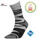 Heren sokken zigzag grijs