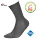 Bamboe sokken heren grijs (2 Paar)