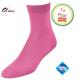 Dames sokken donker roze klassiek