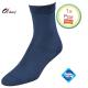 Dames sokken donker blauw klassiek