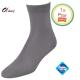 Dames sokken grijs klassiek