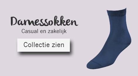 Dame sokken casual en zakelijk